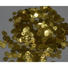 Spangles No. 1 (4mm) Gold 2%