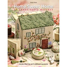 Home Sweet Home An Embroidered Workbox