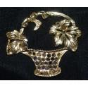 Gold Plated Vases, Baskets & Urns