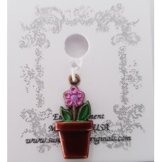 Flower Pot Charm