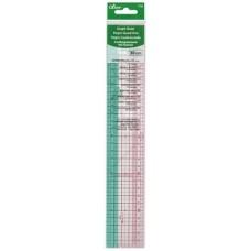Clover Graph Ruler 30cm