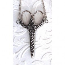 Pewter Chatelaine Celtic Knot 2.75""