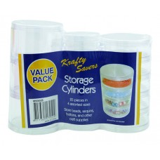 Craft Storage Cylinders Value Pack