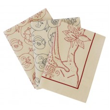 The Crewel Work Company 100% Cotton Tea Towels
