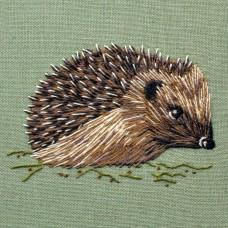 Bluebird Embroidery Company Silk Shading Hedgehog