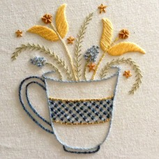 Bluebird Embroidery Company Flower Cup - Pre-order for mid October