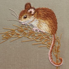 Bluebird Embroidery Company Silk Shading Harvest Mouse