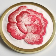 Bluebird Embroidery Company Silk Shading English Rose