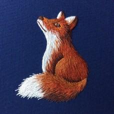 Bluebird Embroidery Company Silk Shading Fox