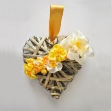 Bluebird Embroidery Company Marigold Ribbonwork Flowers