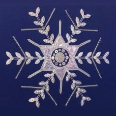 Bluebird Embroidery Company Silverwork Snowflake