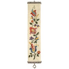 """Coleshill Collection Crewel Work """"Old English"""" Bell Pull"""