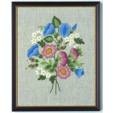 Coleshill Collection Crewel Work Wild Roses